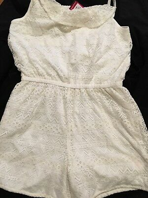 Brand New With Tags Pretty Girls Lacey Playsuit Age 12-13 Years ~ Primark