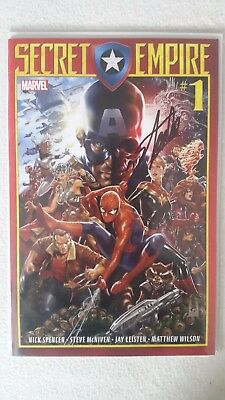 Secret Empire #1 Signed Stan Lee WITH COA