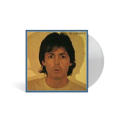 "NEW SEALED VERY LIMITED PAUL MCCARTNEY ""MCCARTNEY II"" 180g CLEAR VINYL LP"