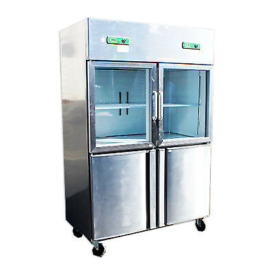Commercial Cooler Freezer Refrigerator Reach in Restaurant Equipment RG32