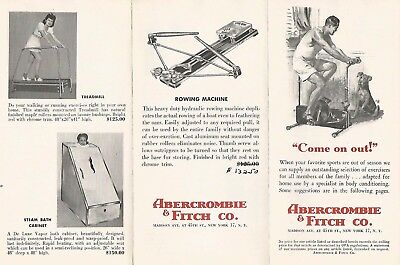 Vintage Abercrombie & Fitch Advertising~Outfitters Catalog Brochure Pamphlet #6