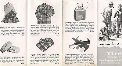 Abercrombie & Fitch / Vl&a~ Outfitters Vintage Catalog Pamphlet Brochure #15