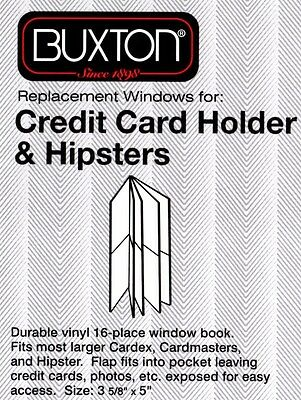 New Clear Plastic Wallet Insert for Credit Card Holder & Hipsters