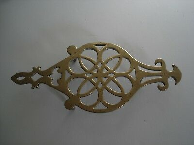 Antique Brass Trivet Early 19th Century