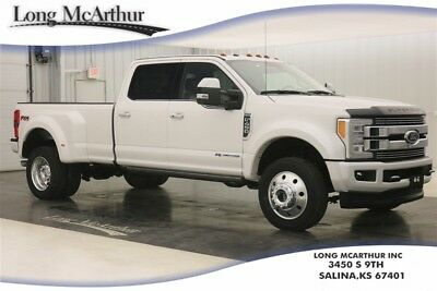 2018 Ford F-450 LIMITED 4X4 AUTOMATIC POWER STROKE TURBODIESEL DUALLY MSRP $91145 4WD 4 DOOR SUPER DUTY DUALLY! ULTIMATE TRAILER TOW CAMERA, 5TH WHEEL GOOSENECK