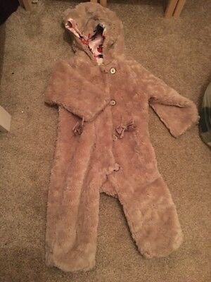 Baby Girls Ted Baker Snowsuit Age 18-24 Months