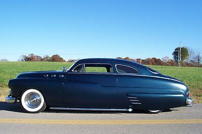 1949 Mercury coupe stock 1949 mercury chopped, hot rod, lead sled, street rod