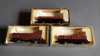 Ibertren Lima Euro Goods Wagons X 3 Good Condition Boxed N Scale(Bg)