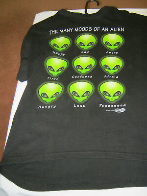 Acme The Many moods of an alien Mens tshirt 1996 size M top t shirt collectable