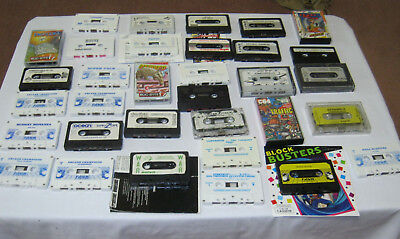 Commodore 64 cassette games 33 Bulk lot Vintage Retro gaming Collectables