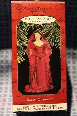 Hallmark  Keepsake Ornament  Scarlett  O'hara Barbie1997