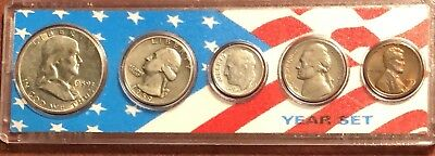 1959 Silver U.s Coin Year Set