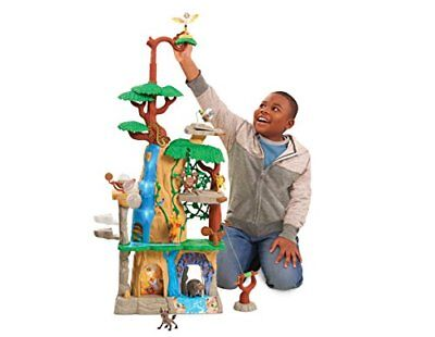 Just Play Lion Guard Training Lair Playset Over 3 Feet Tall adventures of Di...