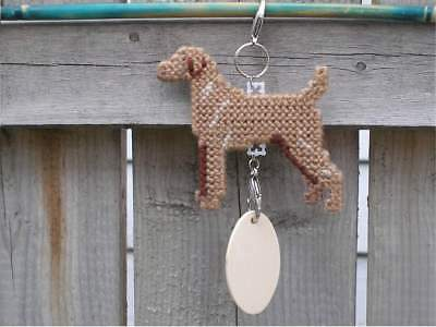 Vizsla dog crate tag or hang anywhere handmade pet sign any day ornament art
