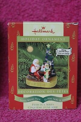 Hallmark Keepsake Ornament Santa Writes Back