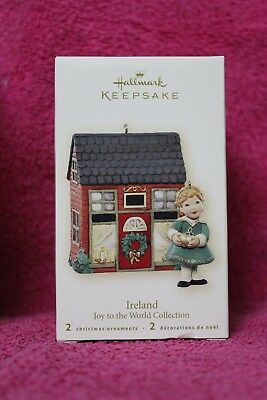 Hallmark Keepsake Ornament Ireland Joy To The World Collection 2007