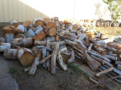 FIREWOOD   large   GUMTREE already cut for removable parts