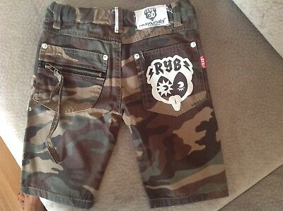 NWOT boys Rock Your Baby shorts size 7