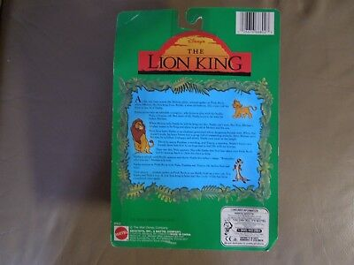 Vintage The Lion King Collectable Figures Simba Pumbaa Timon New In Box