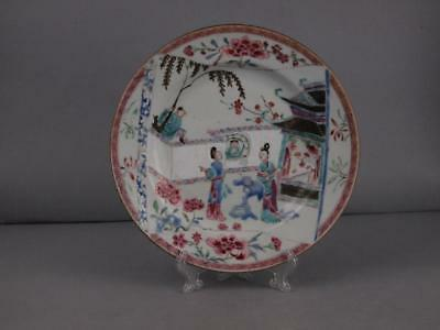 Fine Chinese Kangxi Period (1661-1722) Famille Rose Plate