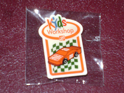 New The Home Depot Kids Workshop #20 Red Race Car Pin Collectible Very Rare