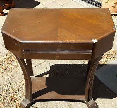 Small second-hand occasional table