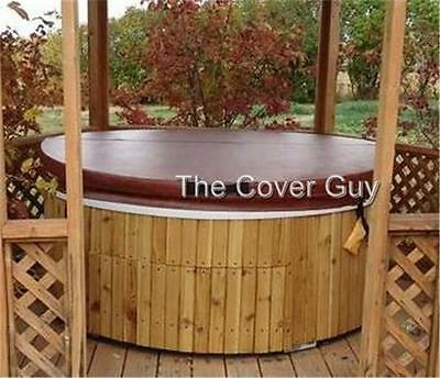 "Custom Deluxe 5""-3"" Spa Hot Tub Cover Best Selling 'Cover Guy' Cover in Canada"