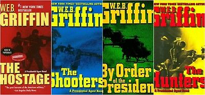 WEB Griffin Presidential Agent Series 8 Audiobooks MP3 DVD