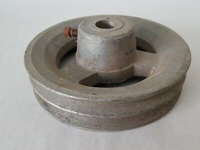 "Pulley - Aluminium - Niloc 7"" 2B Section"