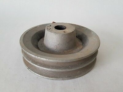 "Pulley - Aluminium - Niloc 6"" 2B Section"