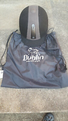 Riding (horse) helmet by Dublin, black, size 59. Never used