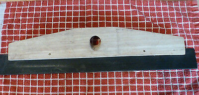 """Wooden Squeegee Head 18"""" Floor Sweepers Squeegees Cleaning Equipment"""