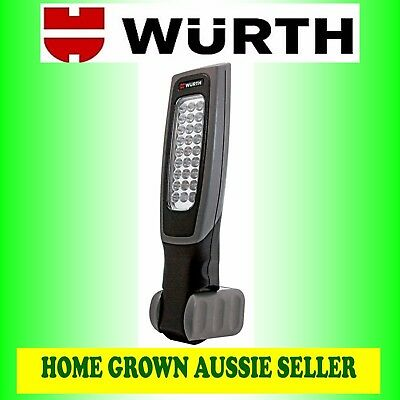 Wurth Ergolight Rechargable Battery-Powered Led Hand-Held Lamp Free Post