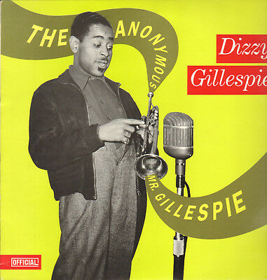 Dizzy Gillespie-Lp- The Anonymous Mr.gillespie- Official-Denmark-1989- Topmint