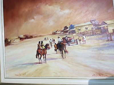 Darcy Doyle Oil original painting on canvas. Good self managed super investment