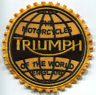 Triumph (Motorcycles Of The World) Patch (Pwp011)