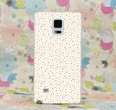 Case Cover For Samsung A7 J7 Note 5 Grand 2 Prime Polka Dots Colorful Small Size