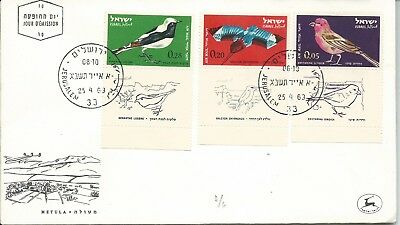 1963 FDC Birds FDI  23 April 1963