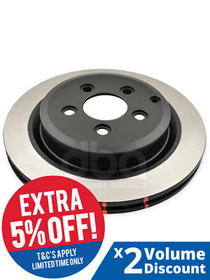 2 x DBA Standard Rotor FOR HOLDEN CREWMAN VY (DBA42050)