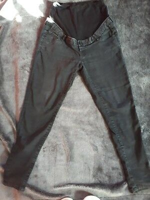 Maternity Over Bump Skinny Jeans High Waist Pregnancy size 12R