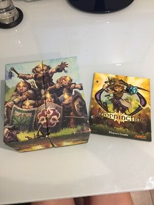 MTG Morningtide Fat Pack Storage Boxes x2 + Player Guide + Dice + ~240 C/UC Card