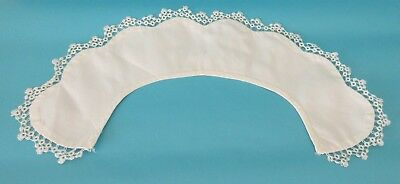 Lot Vintage Cotton Collar with Tatted trim and Lace Collar