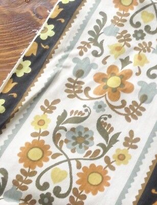 Vintage Fabric Folk Floral Scandi Hearts