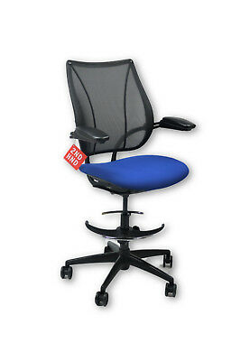 Humanscale Liberty Blue Draughtsman Chair