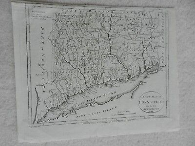 1805 Map Of Connecticut