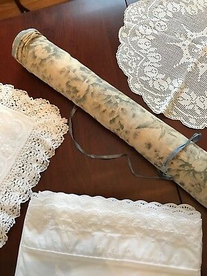 Linen Storage - Antique - roll up storage - keeps linens pressed