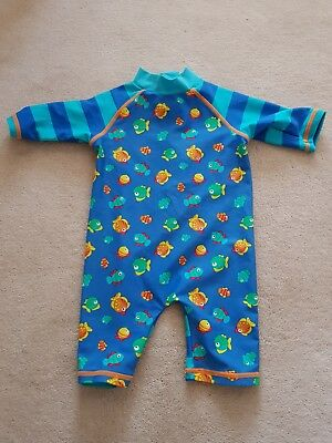 boys all in one swimming costume mini club 3/6 months