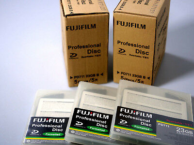 Fujifilm PD711 Professional Disk Rewritable Formatted 13 Stück