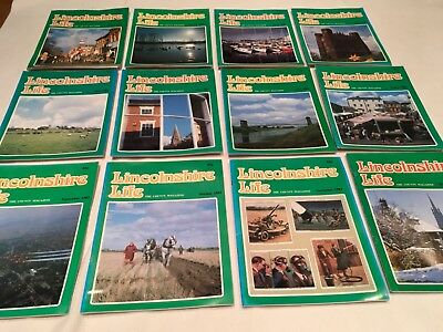 Lincolnshire Life Magazines 1983 Complete Year