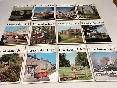Lincolnshire Life Magazines 1975  Complete Year
